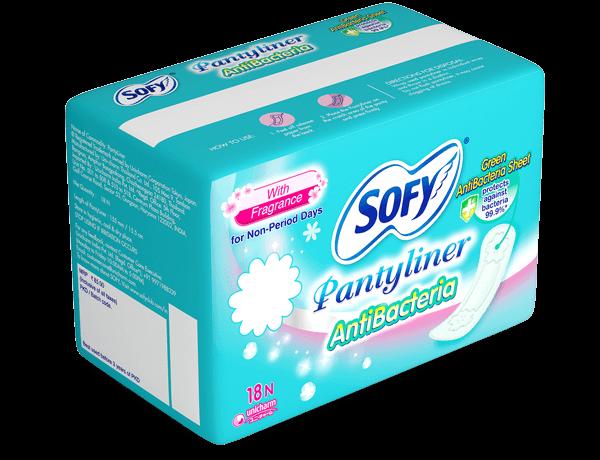 Sofy Green Antibacteria Sheet Pantyliner Napkin