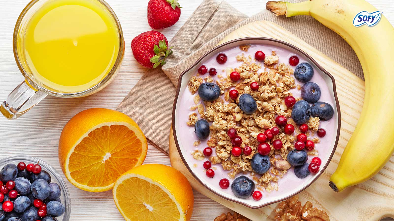 Foods to help ease bloating during periods