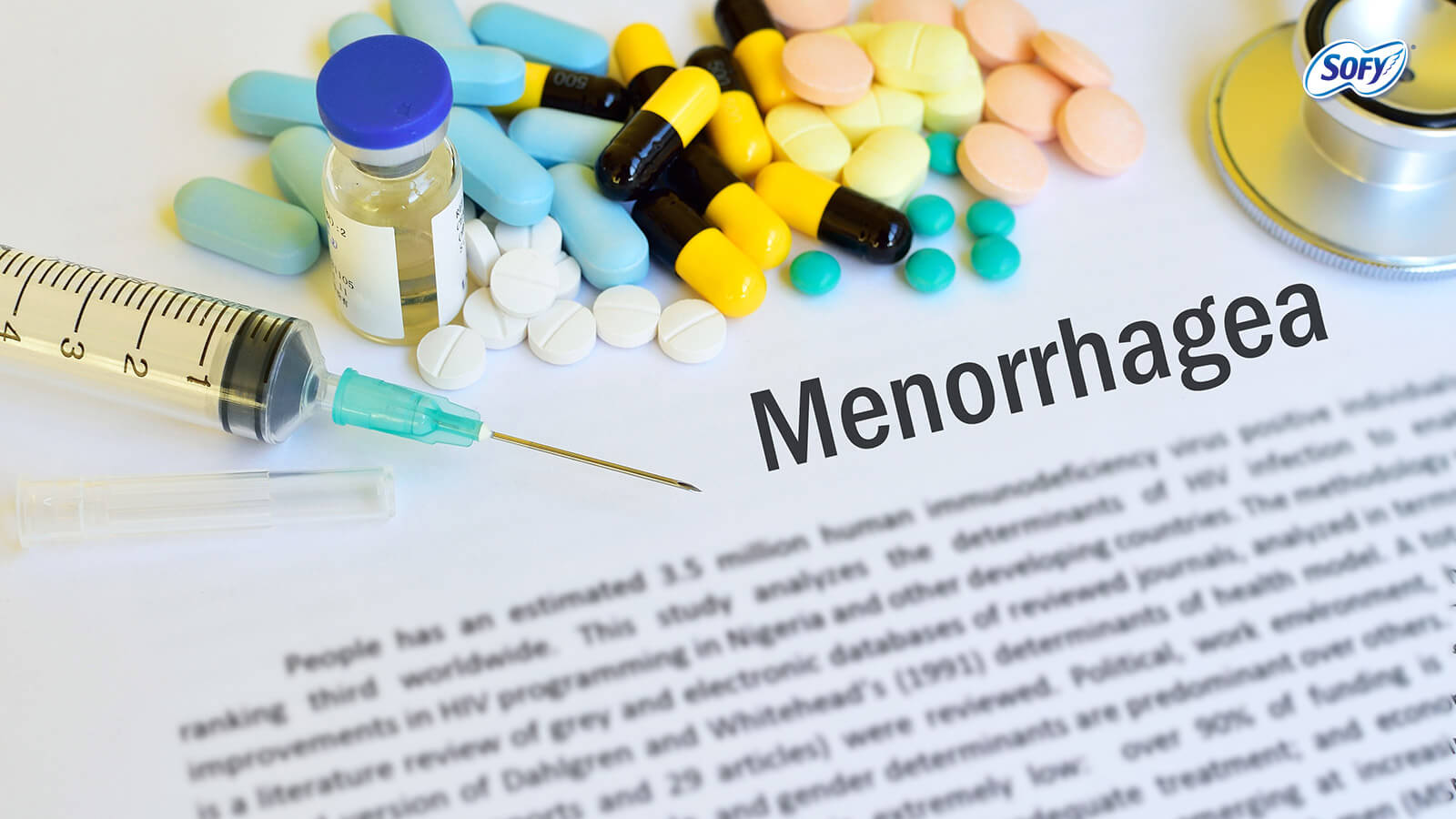What is Menorrhagia (heavy bleeding) and ways of treating it.
